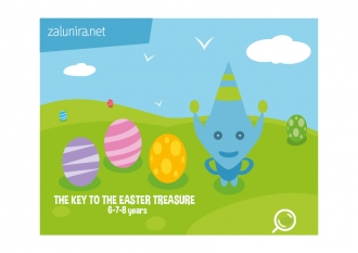 The Key to the Easter Treasure  - 6-7-8 years
