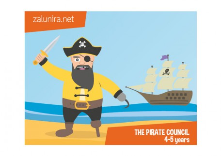 The pirate council - 4-5 years
