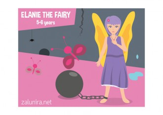 Elanie the Fairy - 5-6 years